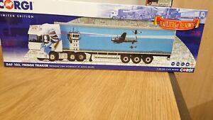 """Corgi CC14122 DAF 105 Fridge Freshlinc """"RAF HOLBEACH"""" Ltd Edition  of 1000"""
