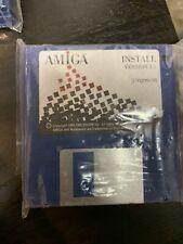 "New Amiga OS Workbench 3.1 Disk Set 3.5"" DD Floppy Disks  - Sealed"