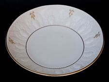 EXTRA LARGE ESTE CE ITALY SERVING BOWL ACORN DESIGN GILT GOLD TRIM 15""