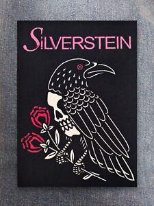 Silverstein patch printed textile patch rock metal metalcore post hardcore punk