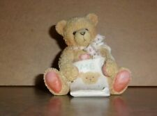 "Cherished Teddies Collectible Figurine - Age 5 - ""Color Me Five"" - Vguc"