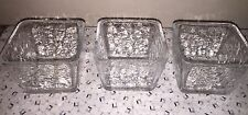 Southern Living At Home Square Glass Dish Trio (Set Of 3)