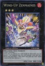 WIND UP ZENMAINES Yugioh MINT Rare Card CT09-EN008 Promo Super