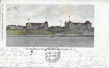 Manhasset House Shelter Island Heights NY nice postcard postally used in 1905