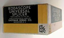 Vintage Kodak Kodascope Universal Film Splicer In Original Box - For 8 mm & 16mm