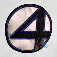 The Fantastic Four Suit Logo Embroidered Patch Marvel Comics Film Thing Reed Mr