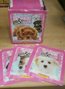 Panini Puppies & Me Stickers Collection: Choose Quantity 10, 25, 50 packs or Box