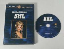 She (1965) - Dvd - Ursula Andress Peter Cushing Adventure Fantasy Movie Uk Film