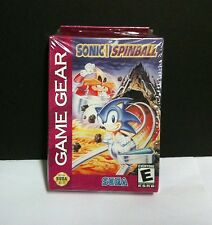 NEW With Crushed box  Sonic Spinball Pinball  Machine Game  for Sega Game Gear