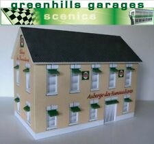 Greenhills Scalextric Slot Car Building Auberge Des Hunaudieres Kit 1:32 Scal...