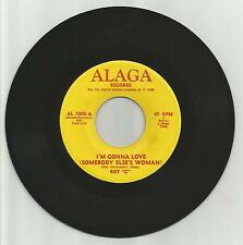 "ROY C – I'M GONNA LOVE SOMEBODY ELSE'S WOMAN – USA ALAGA 7"" SINGLE - LISTEN"