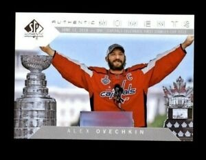 2018-19 SP Authentic #108 Alexander Ovechkin AM (R2304)