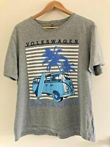 Official Volkswagen 2016 Grey Kombi Santa Cruz T-shirt Size XL