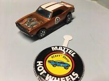 Vintage 1969 Redline Hotwheels Heavy Chevy H.K. Copper To Brown N Mint
