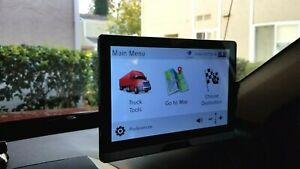 "Rand McNally TND T80B 8"" Tablet TRUCK GPS"