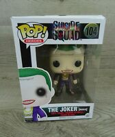 FUNKO POP #104 The Joker (Boxer) Suicide Squad Movie Collection Action Figure