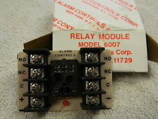 Relay Module MODEL 8007,  Alarm Controls Corp.