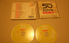 2 CD 50 Jahre Bravo 1956 - 2006 40.Tracks Queen Roxette Nena Kim Wilde Abba A-HA