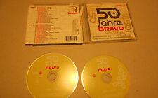 2 CD 50 Jahre Bravo 1956 - 2006 40.Tracks Queen Roxette Nena Kim Wilde Abba A-HA
