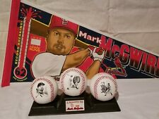 Mark McGwire- 1998 McDonald's Commerative Baseball Set and Pennant