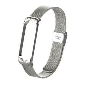 Metal Strap Wristband For  Band 3 4 Replacement Business Durable Metal M2X6