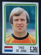 Panini 87 Theo de Jong Niederlande WM 74 World Cup Story