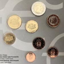 Letland UNC jaar set 2019 Latvia coin set - 1 cent t/m 2 euro BU