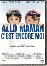"DVD ""ALLO MAMAN C EST ENCORE MOI""   John Travolta NEUF SOUS BLISTER"