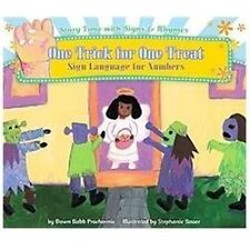 One Trick for One Treat: Sign Language for Numbers (Story Time with-ExLibrary