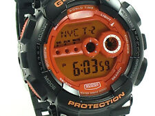 CASIO G-SHOCK X-LARGE ORANGE FACE WATCH GD100HC-1 BRAND NEW ORIGINAL BOX