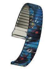 Buntes Flex-Uhrarmband von Speidel - 18 mm, Zugband, Uhrband Uhrbänder Uhrenband