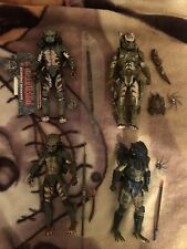 Neca Predator Lot Of 4 Guardian, Spiked Tail, City Hunter, Lost Tribe