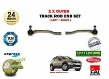 FOR DACIA DUSTER 1.2 1.6 1.5 DCI 2012-> 2X OUTER LEFT + RIGHT TRACK RACK ROD END