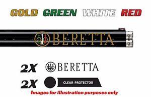 Beretta Vinyl Decal Sticker For Shotgun / Gun / Case / Gun Safe / Car / BR3BG
