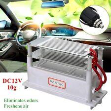 12V 10G Car Ozone Generator DC Ozonizer Ceramic Plate Air Purifier Sterilizer
