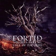 "FORTID ""VOLUSPA PART III: FALL OF THE AGES"" CD NEW!"