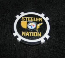 NFL PITTSBURGH STEELERS STEELER NATION SOUVENIR COLLECTIBLE POKER CHIP