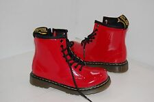 Dr.Martens  High Quality Patent Leather Kids  Boots Size UK 8 EUR 26