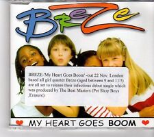(FM508) Breze, My Heart Goes Boom - 1999 DJ CD