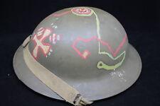 WW2 Canadian Mk2 Steel Helmet
