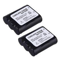 2x New Battery For Panasonic Kx-Tg2237 Kx-Tg2237S Kx-Tg2239 Kx-Tg2247 Hhr-P402