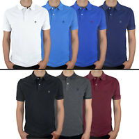 NEW MENS KEDAR POLO SHIRT SHORT SLEEVE PLAIN PIQUE DESIGNER CLASSIC FIT T-SHIRT