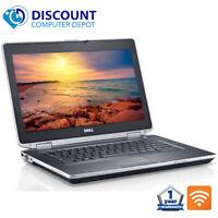 "Dell Laptop Latitude 14.1"" Notebook PC 8GB 256GB SSD HDMI Wifi DVD Windows 10"
