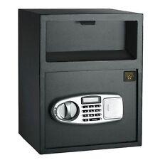 Digital Safe Money Cash Drop Security Deposit Slot Home Lock Office Box Bank End