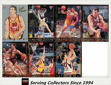 1994 NBL Australia Basketball Card S2 SAMPLE NBL Heroes Scott Fisher Card Set(7)