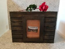 Wedding Picture Frame Card Box,Crate Look , Wood Card Box,Can Be Personalized