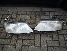 Saab 9-3 93 Halogen Headlamps headlights pair 2003-2007 converted to xenon