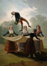 The Straw Manikin, 1791, GOYA, Romanticism, Rococo Art Poster