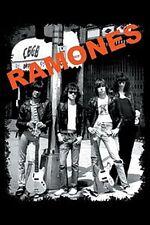 The Ramones At CBGB fridge magnet   (cv)