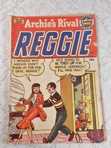 Golden Age ARCHIE'S RIVAL REGGIE comic book 1st Edition 1949 Vintage Collect